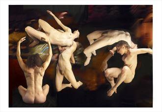 meditation 4sa artistic nude photo by photographer akimota