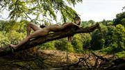 merging artistic nude photo by model iris suarez