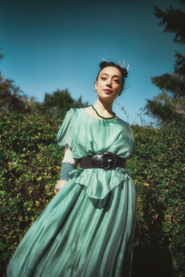 merprincess on land fashion photo by model rebeccatun