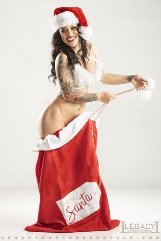 merry christmas 2020 sensual photo by photographer legacyphotographyllc