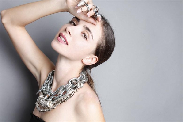 metal girl Glamour Photo by Model Zorjana