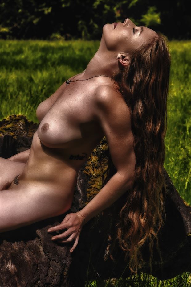 midnight sun artistic nude photo by photographer philip turner