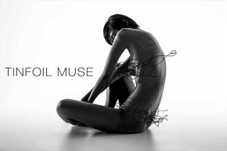 miki tinfoil set 1 artistic nude photo by photographer bmorrisphoto