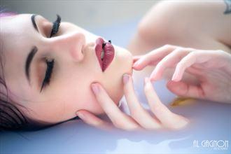 milk bath implied nude photo by photographer al gagnon
