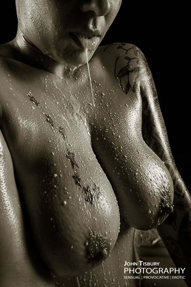 milk spill erotic photo by photographer john tisbury