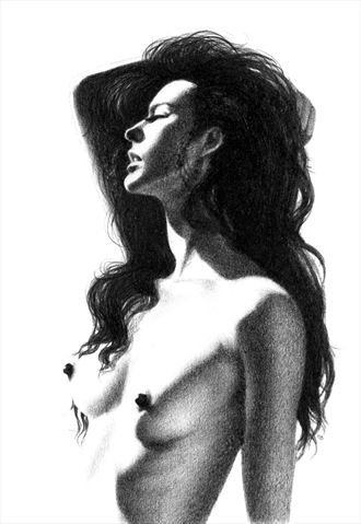 milla sun worship artistic nude artwork by artist subhankar biswas