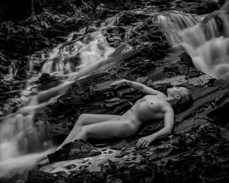 miller lake falls 1 artistic nude photo by photographer mccarthyphoto