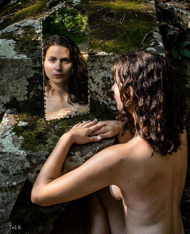 mirror mirror abstract photo by artist artfitnessmodel
