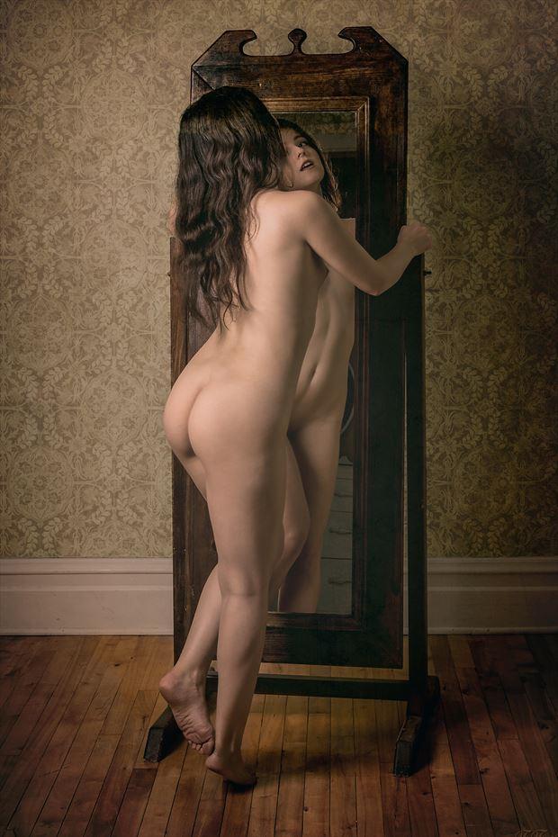 mirror mirror artistic nude photo by photographer fischer fine art