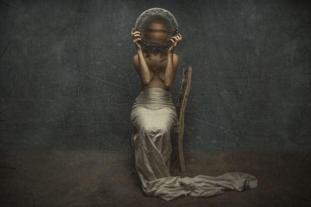 mirror mirror artistic nude photo by photographer luj%C3%A9an burger