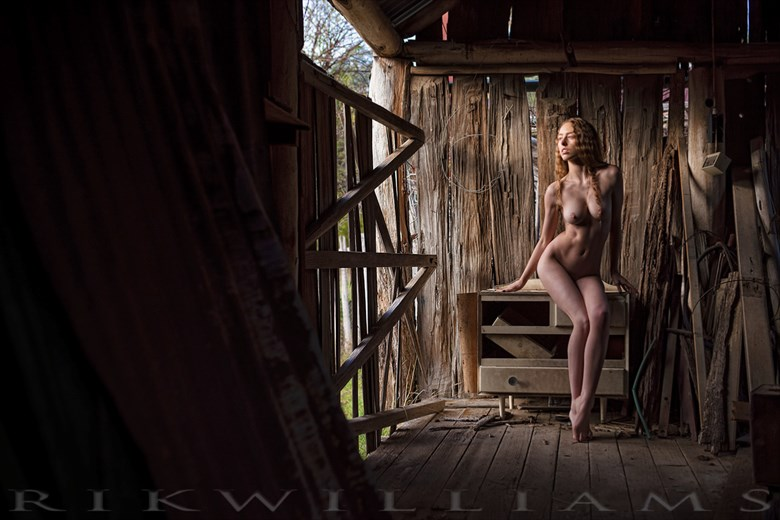 misplaced infatuation artistic nude photo by photographer rik williams