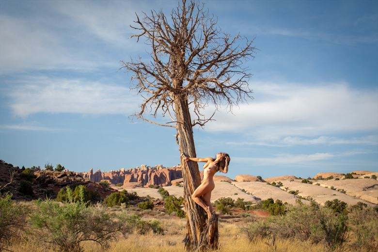 moab ut artistic nude photo by model april a mckay