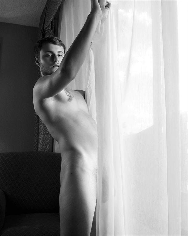 model chancellor fekete sensual artwork by photographer joseph j bucheck iii
