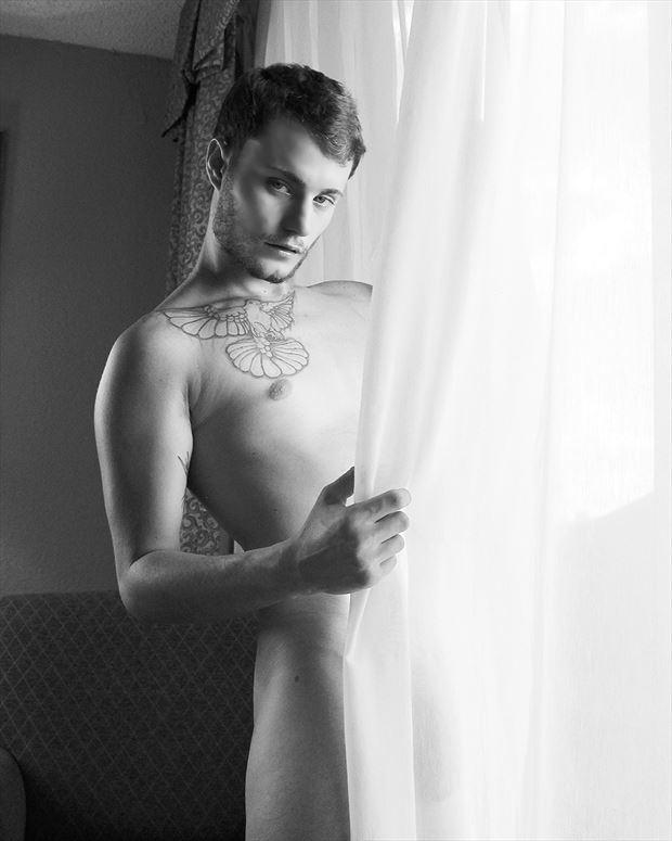 model chancellor fekete tattoos artwork by photographer joseph j bucheck iii