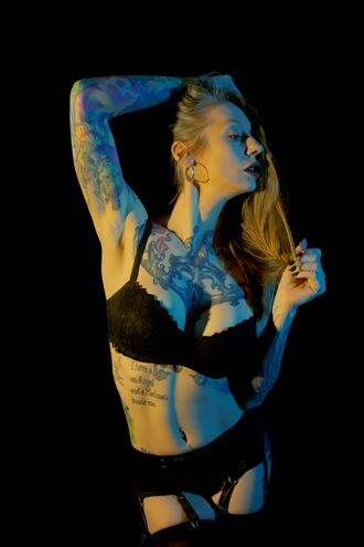 molly blue and gold tattoos photo by photographer amerotica