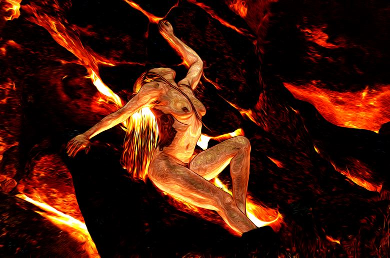 molten artistic nude photo by photographer aephotography