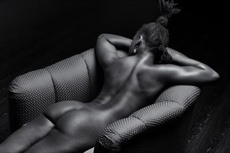 moment of rest artistic nude artwork by model wxldlotus