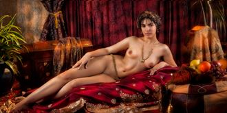 moorish princess reclining 1 artistic nude photo by photographer vincent isner