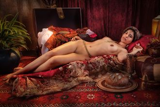 moorish princess reclining 2 artistic nude photo by photographer vincent isner