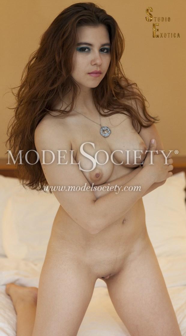 more is MORE Artistic Nude Photo by Model Charlotte Dell'Acqua