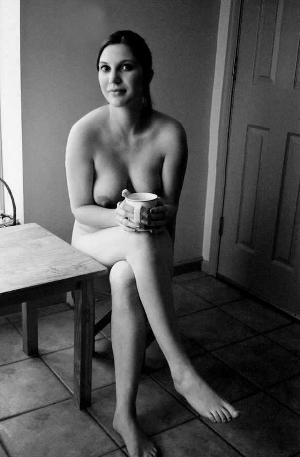 morning coffee artistic nude photo by photographer glamour by richmond