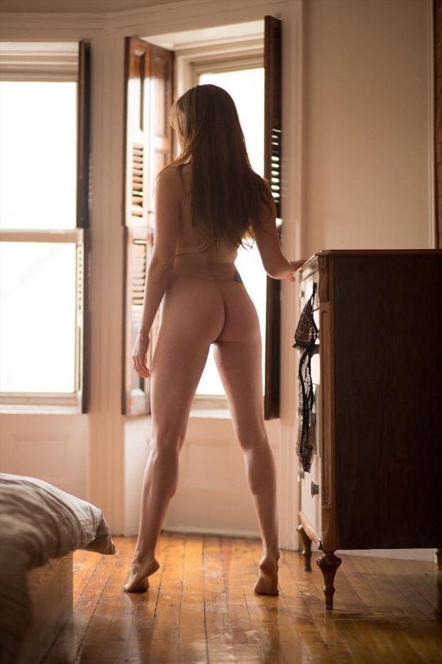 morning glow artistic nude artwork by model nikol bee
