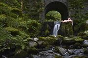 moss artistic nude photo by photographer gibson