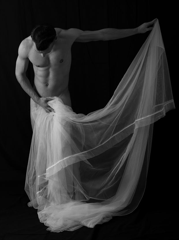 motion artistic nude photo by model coma12