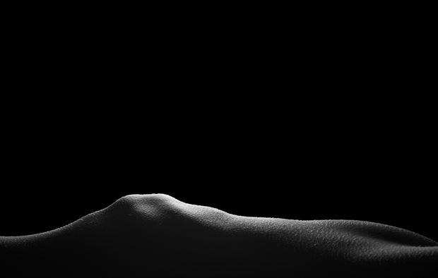 mountain sunrise artistic nude artwork by photographer gsphotoguy