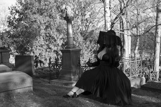 mourning ii glamour artwork by photographer patrik lee andersson