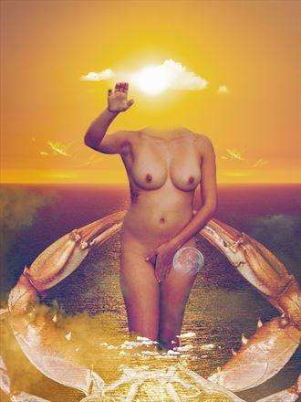 mujer de mar nature artwork by photographer juanlozaphotography