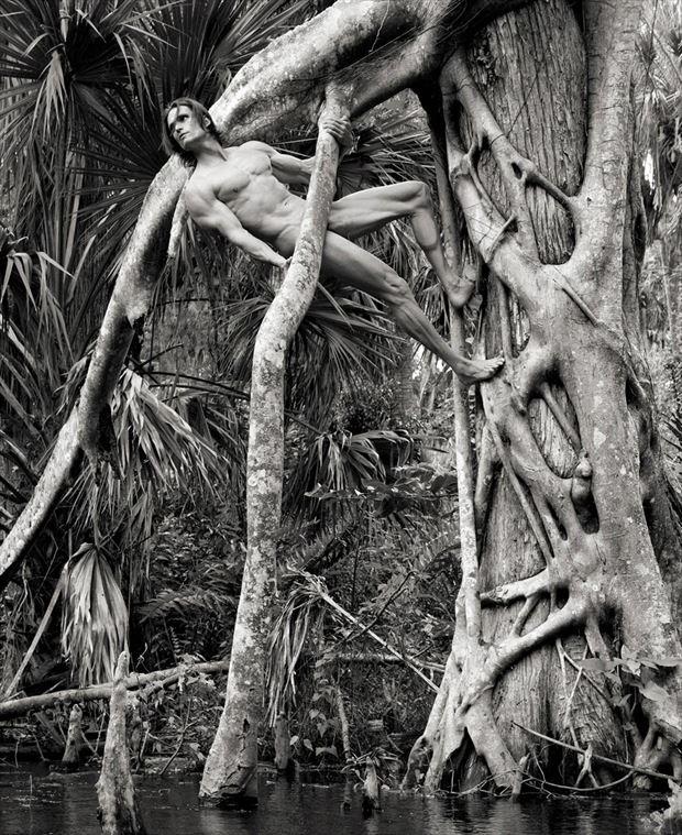 murder in progress artistic nude photo by photographer bradmiller