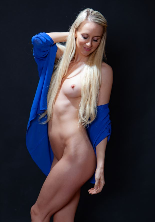 my blue shirt artistic nude photo by photographer lamont s art works