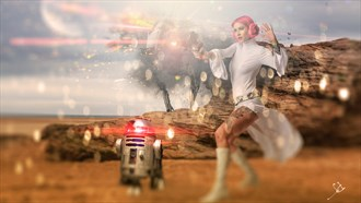 my wars Cosplay Artwork by Artist Digital.retoucher.uk