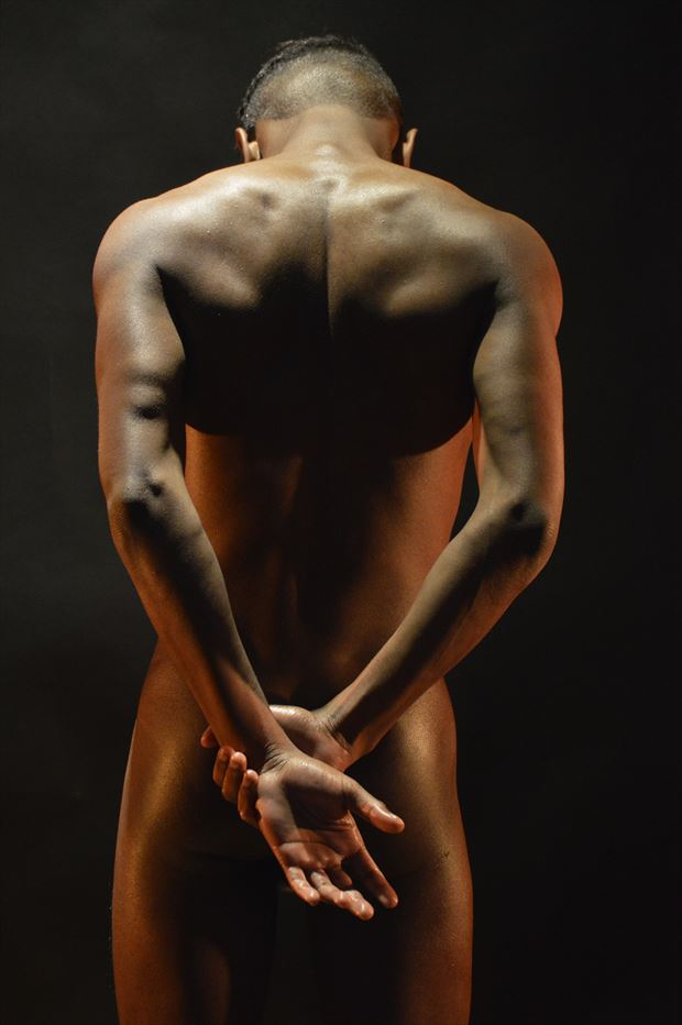 mykoal back artistic nude photo by photographer dan simoneau