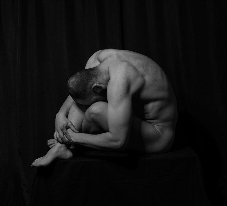 myself iv chiaroscuro photo by artist sr gris