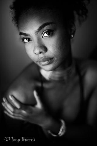 mystery portrait photo by photographer tony browne