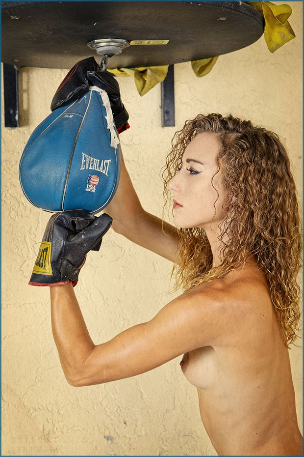 naked boxing artistic nude photo by photographer dpaphoto