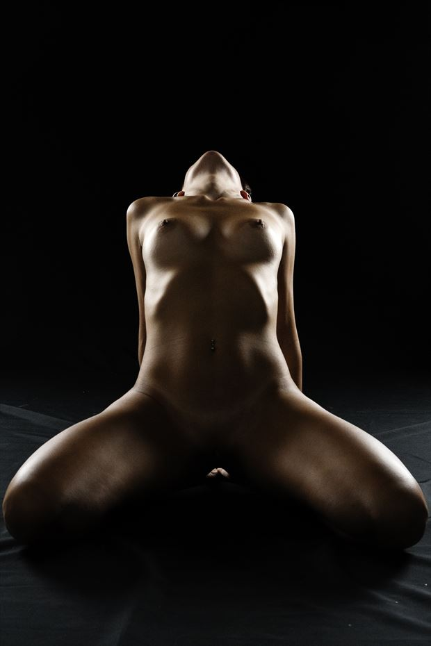 naked in the study artistic nude photo by photographer hermanodani