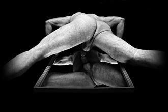 naked press ups artistic nude photo by model davidjames64