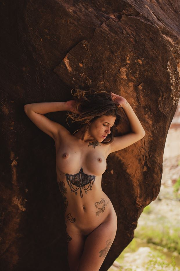natural form artistic nude photo by model emily rose