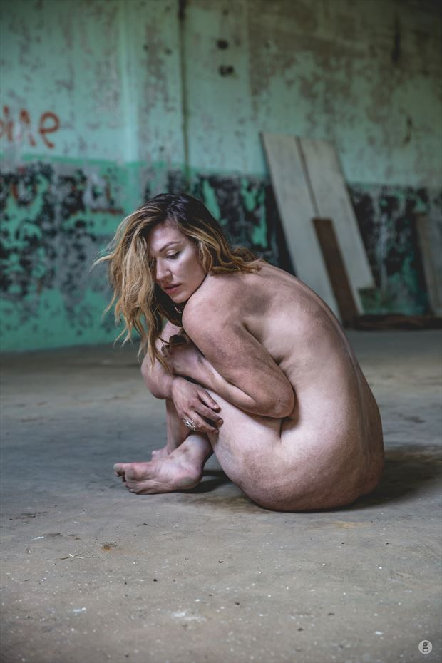 natural light nude in abandoned factory artistic nude photo by photographer luka zozka