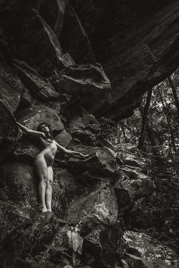 natural shapes artistic nude photo by model jordane