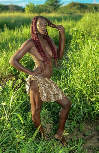 naturally created jamaican beauty artistic nude photo by photographer michael mcintosh