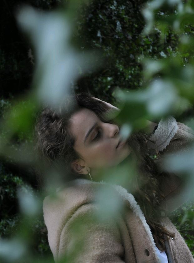 nature close up photo by model ava nicholson