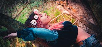 nature fantasy photo by model iris suarez