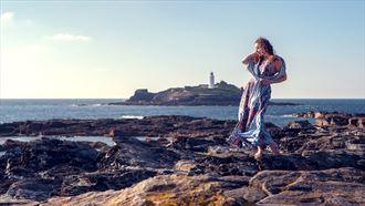 nature fashion photo by model ella rose muse