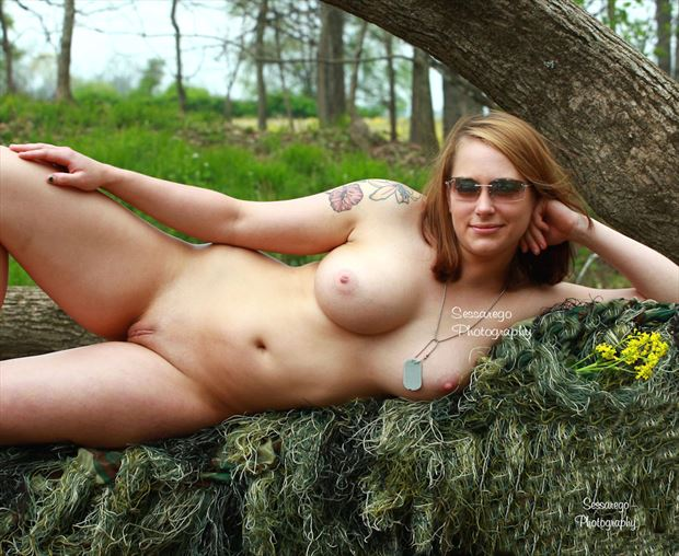 nature girl artistic nude photo by photographer alan james