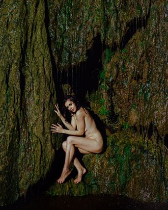 nature implied nude photo by model helen troy