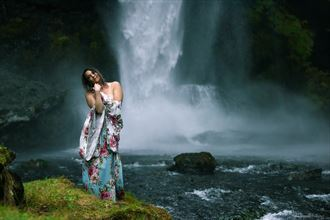 nature implied nude photo by model satya